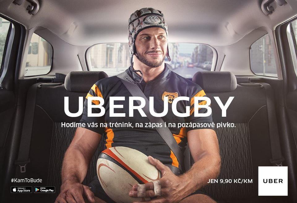 Reklama UBER