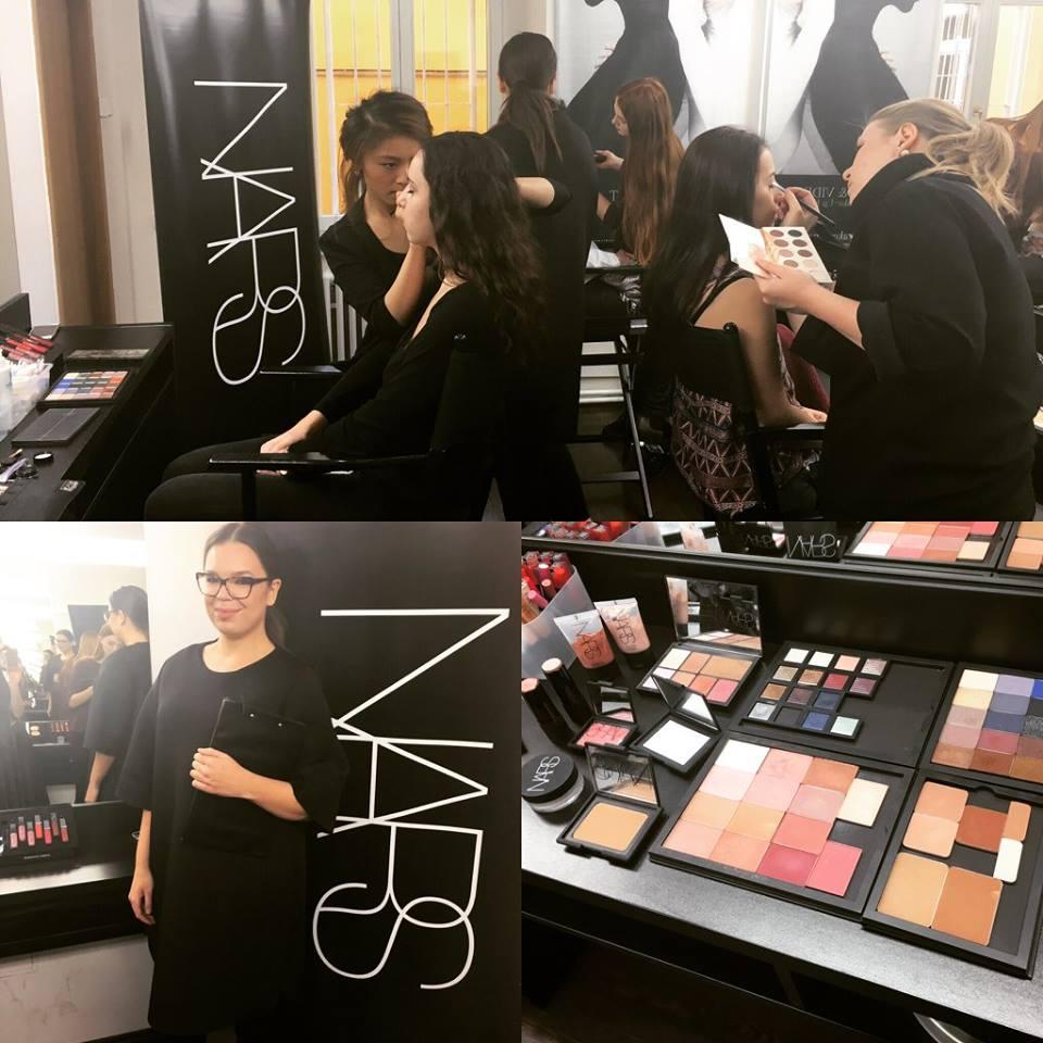 Výběrové řízení NARS pod vedením Terezy Matějičné v Make-up Institute Prague